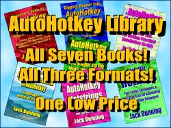 Seven Book AutoHotkey AutoHotkey Library Deal!