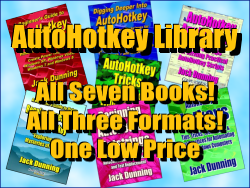 Seven AutoHotkey Book Library Deal
