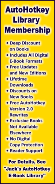 AutoHotkey Library Membership!