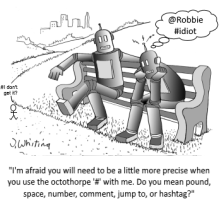 RobotHashtagCartoon