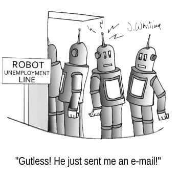 RobotEmailCartoon