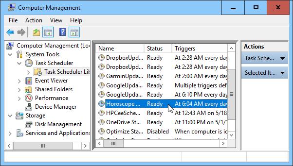 TaskSchedulerEmail