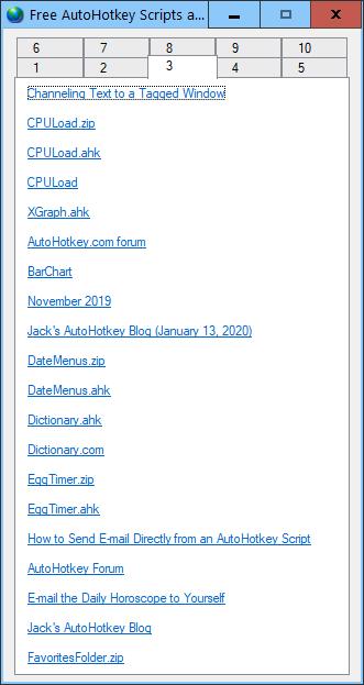 WebPageLinks